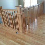 Custom Railing Hardwood Flooring