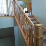 Custom Stairs In Oak