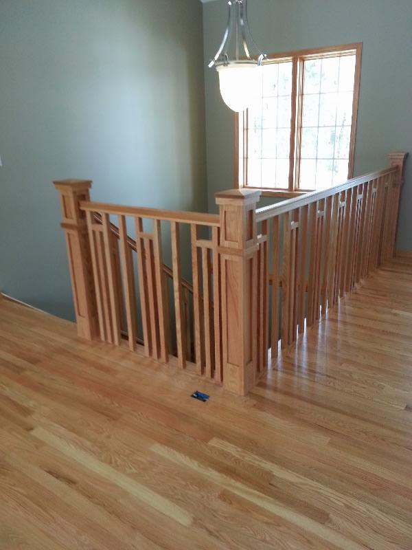 Frank lloyd wright style railing mystairways - Frank lloyd wright style ...