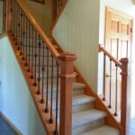 Oak And Iron Custom Stairway Apple Valley
