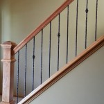 Oak And Iron Spindle Railing Plymouth