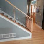 Cable Railing Maple Handrail Installation