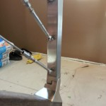 Cable Stairway Railing Installation