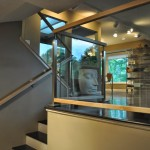 Custom Glass And Stainless Railing