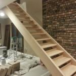 Installing Custom Oak Stairway