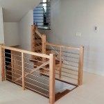 Maple With Stainless Tubing Railing