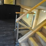 Multi-Level Stairway Railing