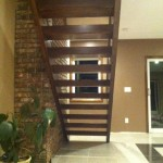 Open Riser Custom Stair Build