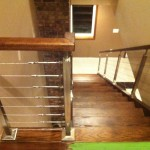 Stairway Cable Railing Top Landing