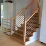 Tubing And Maple Custom Stair Railing