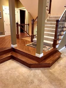 After Railing And Landing Installation