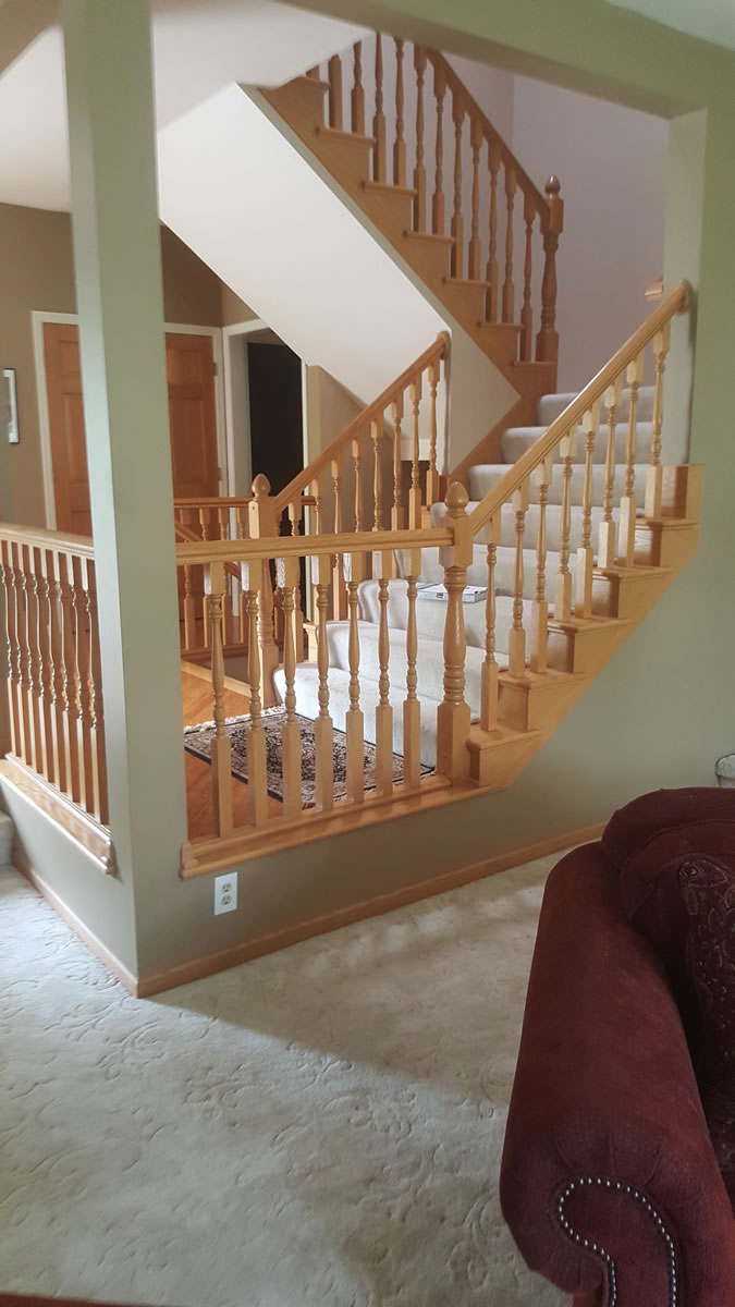 Before Railing Project Sview Mn