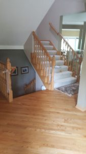 Before Shoreview Railing Project