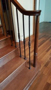 Cherry Railing And Steps