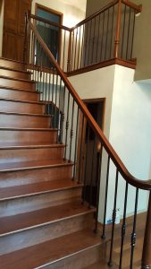 Custom Steps And Railing Install