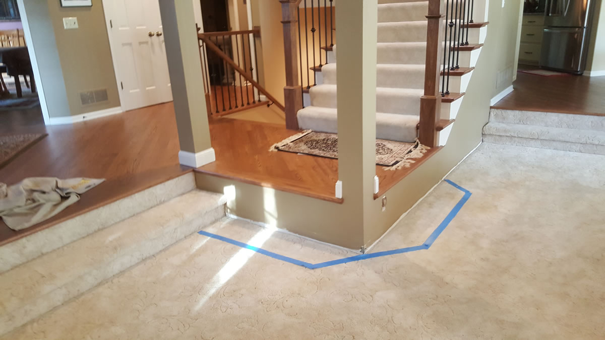 Stair Landing Re-Design - MyStairways