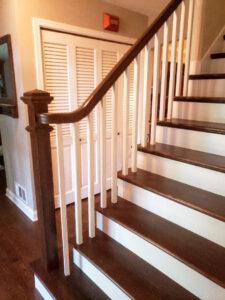 Modern Stair Rail Curve 002