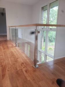 Stainless Steel And Glass Stair Rail 001