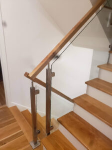 Stainless Steel And Glass Stair Rail 002