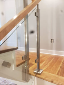 Stainless Steel And Glass Stair Rail 003