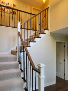 Updated Residential Stair Railing