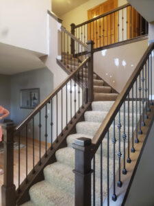 Updated Stairway Wood And Iron 001